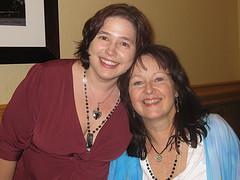 Elizabeth & Joanna at RS09