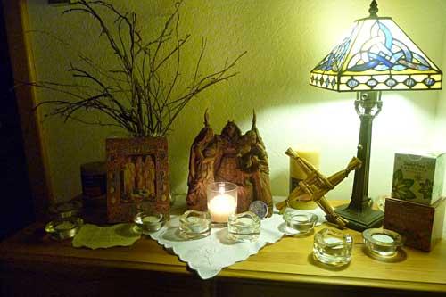 Brigid-altar1